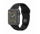 Apple Watch 38mm Sport, Sport Band (Black)