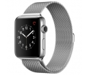 APPLE Watch Series 2, Silver Milanese Loop