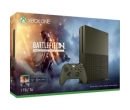 MICROSOFT Xbox One Slim 1 TB, olive green + Joc Battlefield 1 (cod download ) + 1 month EA Access