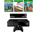 Microsoft Xbox One 500GB, Kinect + Kinect Sports Rivals, Forza Horizon 2, Zoo Tycoon
