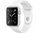 Apple Watch Sport 42mm Silver Aluminum Case, White Sport Band