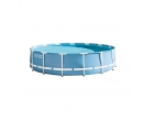 Piscina Intex, PVC, cadru metalic, 457 x 107 cm