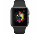 Apple Watch 1 42mm Space Grey Aluminium Case, Black Sport Band