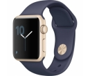 Apple Watch 2 38mm Gold Aluminium Case, Midnight Blue Sport Band